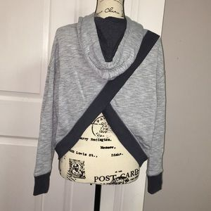 Unique Cross Back Hoodie